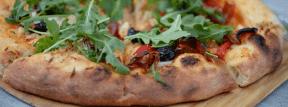 Photo - #Photography #Photo #cuisine #california #stone #pizza #sicilian #food #european #dinner #recipe
