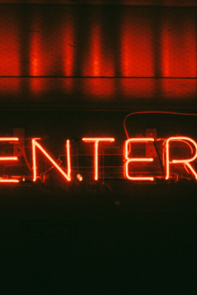 Photo - #Photography #Photo #font #neon #computer #midnight #night #signage #sign #device #electronic