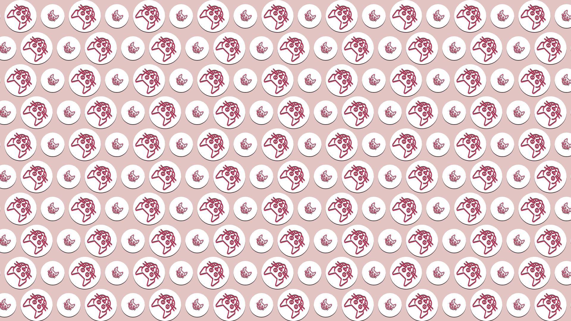 Pink, Pattern, Textile, Design, Line, Material, Font, Product, Circle, Drum, Shapes, Circular, Cat,  Free Image