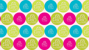 HD Pattern Design - #IconPattern #HDPatternBackground #milky #supermarket #circles #rounded #circle #circular #healthy #shapes