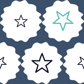 Pattern Design - #IconPattern #PatternBackground #frames #favourite #stars #frame #raggedborders #drawn #fancy