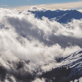Photo - #Photography #Photo #massif #mountain #ridge #cloud #sky #snowcapped #mountainous #Clouds #cover #alps