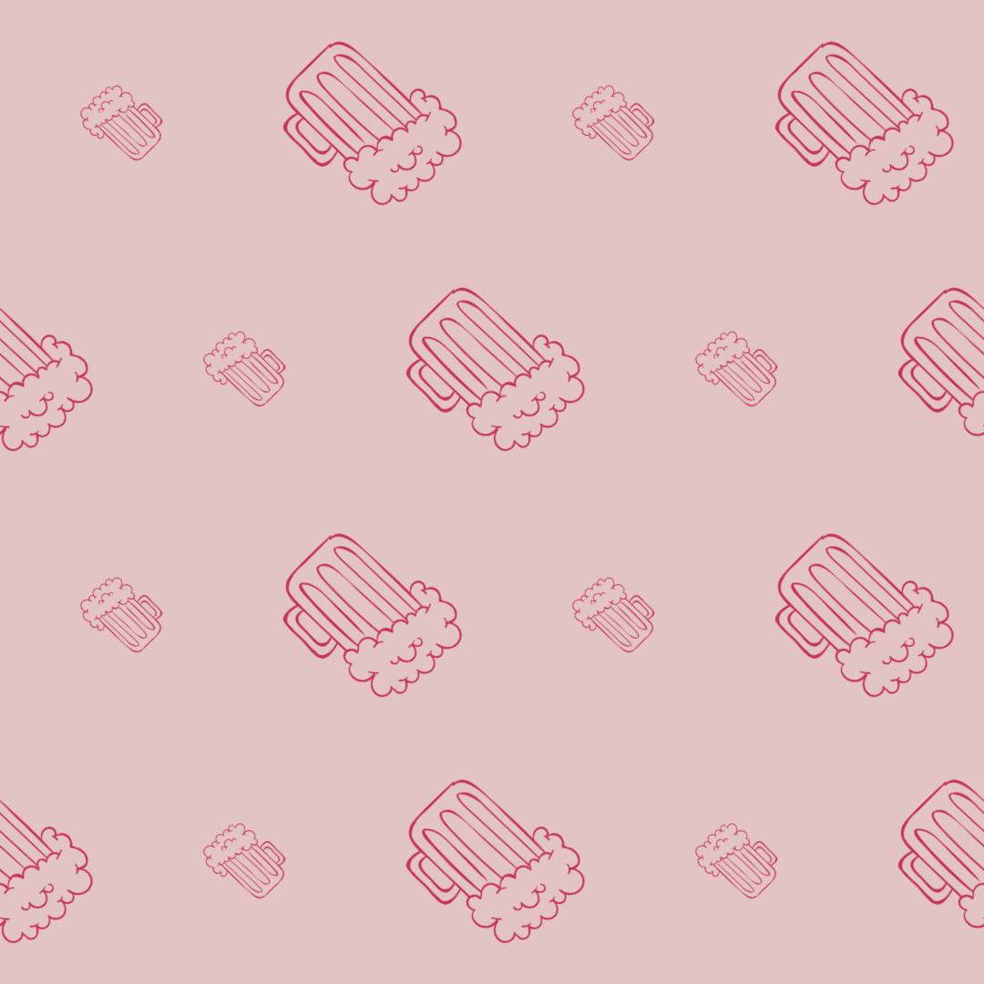 Pattern Design - #IconPattern #PatternBackground #jars #alcohol #bar #food #drinks #beers #pint