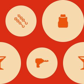 Pattern Design - #IconPattern #PatternBackground #winter #food #construction #button #skewer #drilling #circular #shapes #elegant