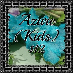 azure kids blue