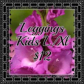 leggings kids l-xl Purple