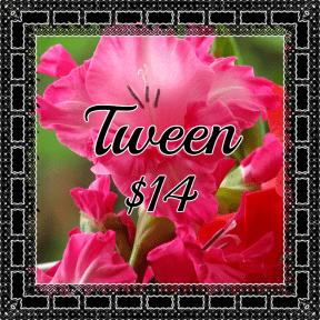 Tween pink