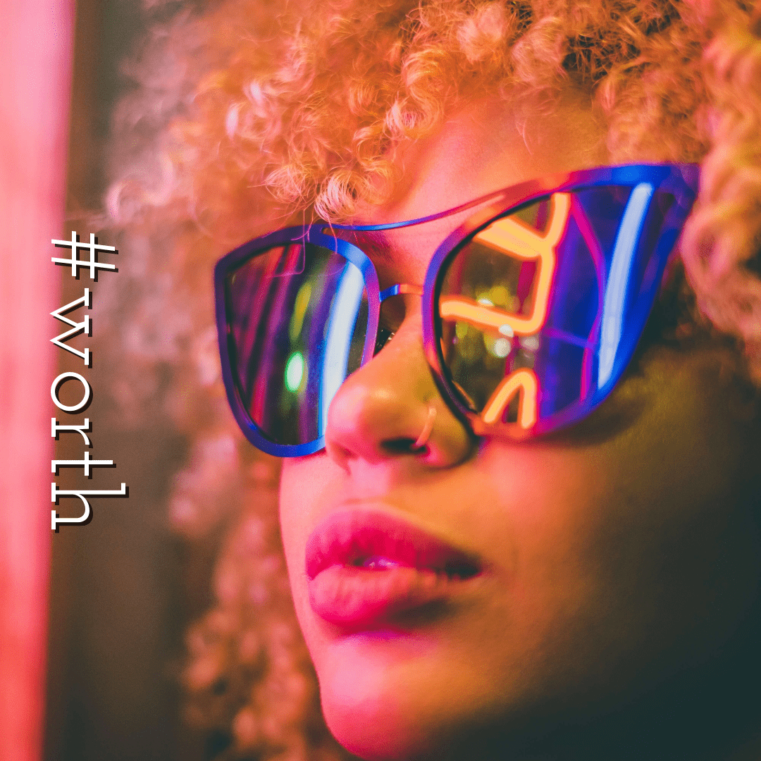 Profile Phote - #Avatar #sunglasses Design  Template