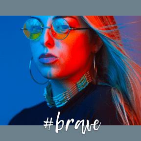 Profile Phote - #Avatar #lip #electric #close #blue #up #eyewear