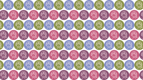 HD Pattern Design - #IconPattern #HDPatternBackground #circle #shape #season #girl #geometric