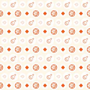 Pattern Design - #IconPattern #PatternBackground #rough #circles #sport #balls #swirly #basketball #rectangles #ovals #poison #utensils