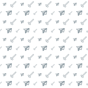 Pattern Design - #IconPattern #PatternBackground #outline #icons #tool #shapes #hammer #utensils #toy #folded #airplane