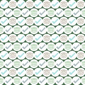 Pattern Design - #IconPattern #PatternBackground #box #shapes #cubes #circular #shape #repair #black #circle #cube #square