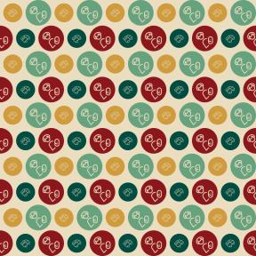 Pattern Design - #IconPattern #PatternBackground #shapes #round #people #cargo #lorry #circle #child #circles