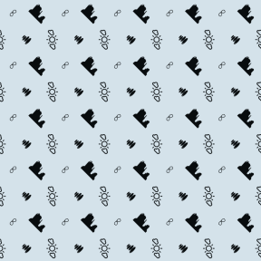 Pattern Design - #IconPattern #PatternBackground #monuments #calm #relaxing #meditation #accessory #clouds #bathing