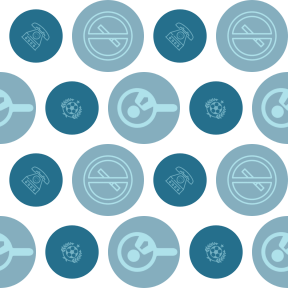 Pattern Design - #IconPattern #PatternBackground #technology #shape #searching #Flags #prohibition #star #receiver #circle