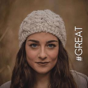 Profile Phote - #Avatar #hat #bonnet #knit #forehead #beanie #hair