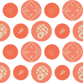 Pattern Design - #IconPattern #PatternBackground #circular #toys #worldwide #pick #childhood