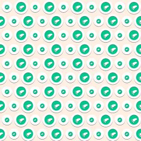 Pattern Design - #IconPattern #PatternBackground #circular #shape #feet #geometrical #print #shapes #beach
