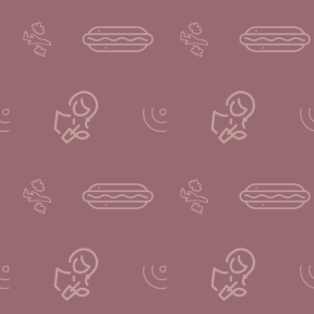 Pattern Design - #IconPattern #PatternBackground #signal #wireless #outline #signs #food