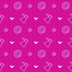 Pattern Design - #IconPattern #PatternBackground #cut #clothing #cash #loudspeaker #banking #and #utensils #tomatoes #ingredient