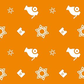 Pattern Design - #IconPattern #PatternBackground #gun #snowy #shoot #snowing #box #projectile #storage #winter #bomb