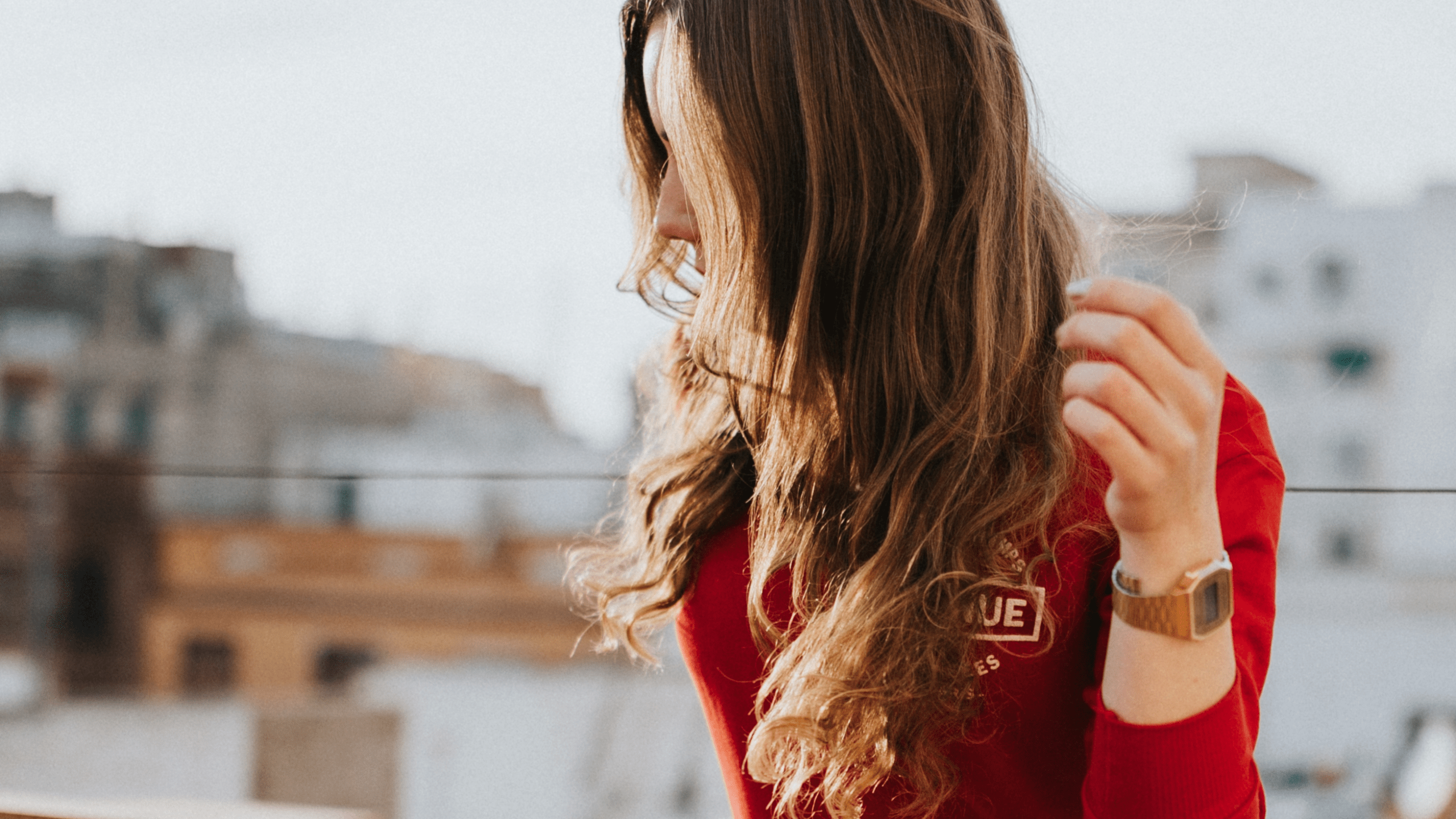 Photo,                FreePhoto,                Obscuring,                Coloring,                Human,                Hair,                Sweater,                Girl,                White,                Black,                Red,                 Free Image