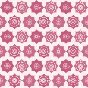 Pattern Design - #IconPattern #PatternBackground #recycle #rectangles #wheel #scalloped #ragged #clouds #stars #inset #shape #corners