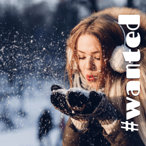 Profile Phote - #Avatar #clothing #winter #freezing #snout #fur #snow #girl