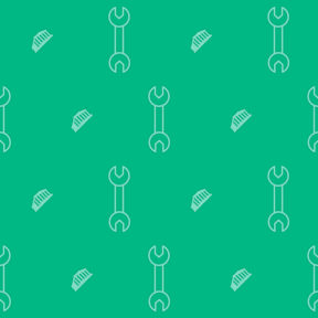Pattern Design - #IconPattern #PatternBackground #and #wrench #greece #tool #monuments