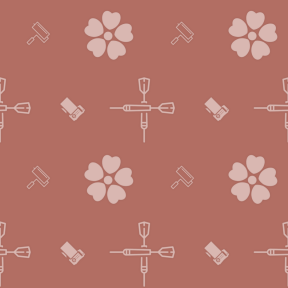 Pattern Design - #IconPattern #PatternBackground #blossom #computing #computer #sports #painting #painter #nature #game #screen #rolled