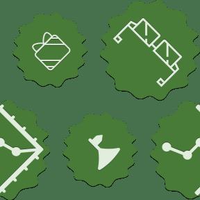 Pattern Design - #IconPattern #PatternBackground #fun #wavy #squares #circus #rectangles #ovals