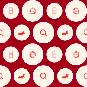 Pattern Design - #IconPattern #PatternBackground #send #shape #shapes #phone #communication #tools #glass #utensils