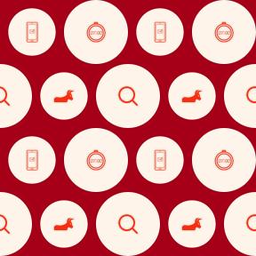 Pattern Design - #IconPattern #PatternBackground #send #shape #shapes #phone #communication #tools #glass #utensils