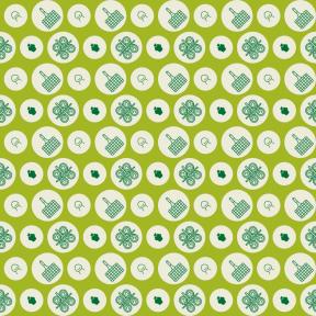 Pattern Design - #IconPattern #PatternBackground #festival #shapes #rounded #sweet #circle