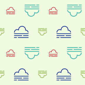 Pattern Design - #IconPattern #PatternBackground #weather #cloudy #cloud #atmosphere #meteorology #foggy