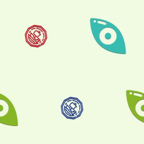 Pattern Design - #IconPattern #PatternBackground #money #part #exchange #vision #medicine #currency #optical