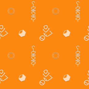 Pattern Design - #IconPattern #PatternBackground #men #shapes #heat #food #meat
