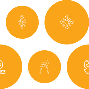 Pattern Design - #IconPattern #PatternBackground #snow #circle #shapes #circles #mail #email #winter #bicycle #man #women