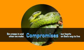#sin #compromise #creep