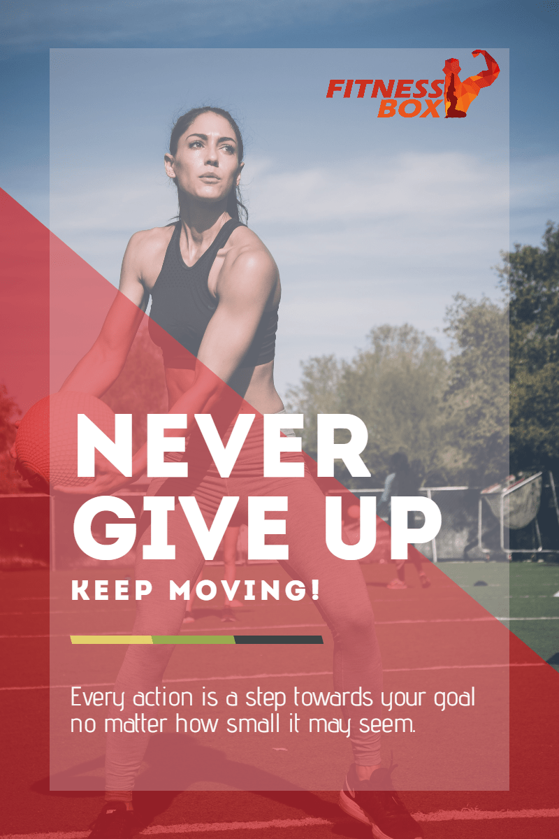 Template,                Gym,                Poster,                White,                Red,                 Free Image