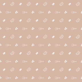 Pattern Design - #IconPattern #PatternBackground #guitar #hair #shapes #trousers #female