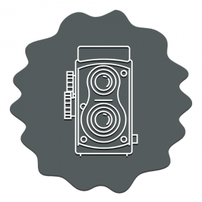 Icon Graphic - #SimpleIcon #IconElement #squares #vintage #frames #technology #photograph