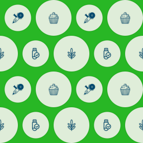 Pattern Design - #IconPattern #PatternBackground #baker #technology #essentials #checked #circle #storage #dessert #check #tool