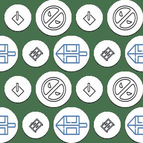 Pattern Design - #IconPattern #PatternBackground #circle #boxes #marvel #cinema #movie #office
