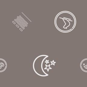 Pattern Design - #IconPattern #PatternBackground #movies #nature #cash #media #moon #coin #theater #money