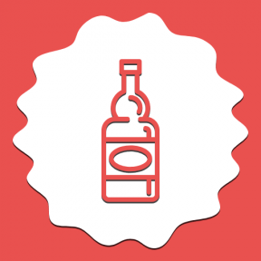 Icon Graphic - #SimpleIcon #IconElement #alcohol #rectangles #bottle #decorative #border #circles #raggedborders #swirly #frames