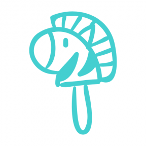 Icon Graphic - #SimpleIcon #IconElement #animals #toys #toy #stick #animal #entertainment #head #kids #horse