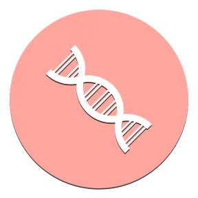 Icon Graphic - #SimpleIcon #IconElement #circle #Strand #gene #dna #chromosome