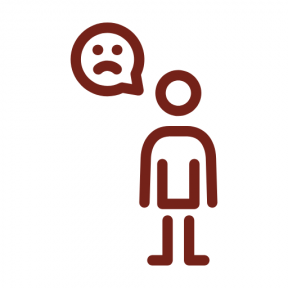 Icon Graphic - #SimpleIcon #IconElement #man #stick #sadness #people #men #emoticon